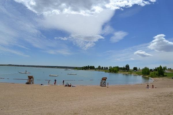 Boulder Reservoir in Denver