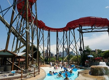 Elitch Gardens Water Park in Denver